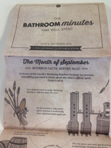 The Bathroom Minutes - Time Well Spent