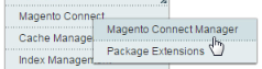 Click Magento Connect Manager