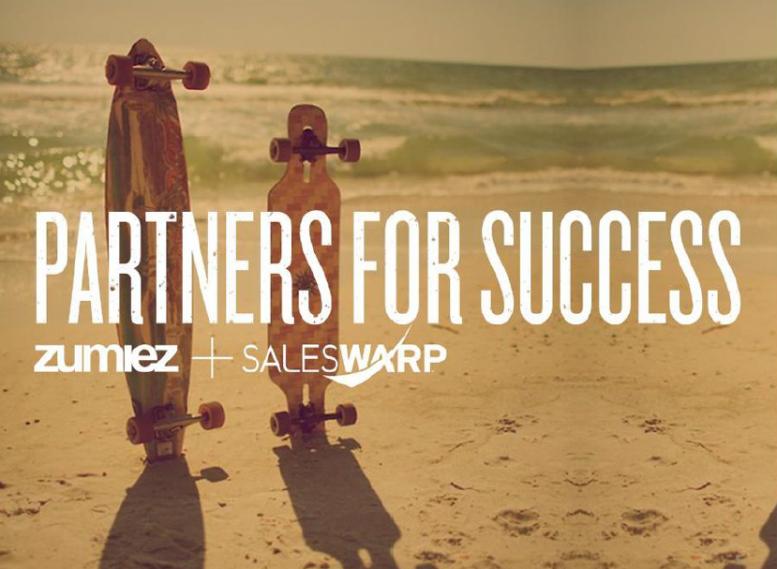 Zumiez/SalesWarp partners